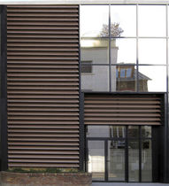 wooden solar shading EVERGLADE SAB INTERNATIONAL