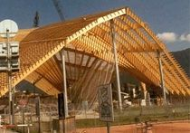 wooden structure ICERINK DAVOS Haring Engineering Ltd