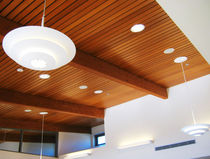 wooden suspended ceiling AQUA CALIENTE MUSEUM Getech