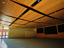 wooden suspended ceiling ATWATER PLACE Getech