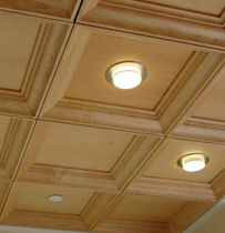 wooden suspended ceiling NORTH FORK BANK Getech