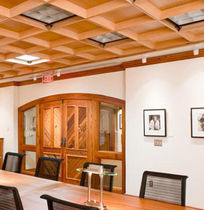 wooden suspended ceiling THE WITTLIFF COLLECTIONS Getech