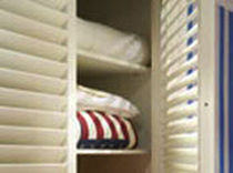 wooden swing door for walk-in wardrobe  JASNO SHUTTERS