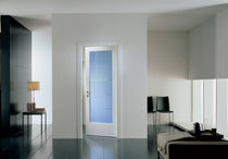 wooden swing door with glass pane MOD. BILA 1V  GAROFOLI