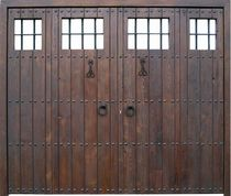 wooden swing garage door MORALEDA FIJOS CONELY