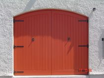 wooden swing garage door  Kingsbridge Joinery