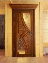 wooden swing interior door SINGLE DOOR: MD-2 Marchewka