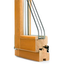 wooden triple glazed casement window S 5 CORMO