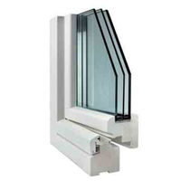 wooden triple glazed casement window 90 CLIMA COMECA GROUP