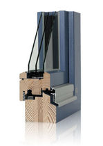 wooden triple glazed casement window TF 90 R | RENO | Sorpetaler Fensterbau