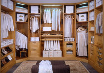 wooden walk-in wardrobe MON AMOUR ARCA
