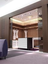 wooden walk-in wardrobe ESSENCIAL MOBIL FRESNO