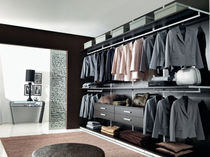 wooden walk-in wardrobe CONTINUA unico italia