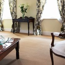 wool cut and loop pile carpet EXECUTIVE TWEED Victoria Carpets