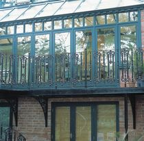 wrought iron balcony B/8/1 Cast Spiral Stairs