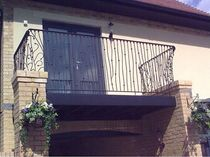 wrought iron balcony  New Forest Metal Work