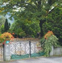 wrought iron entrance gate  Vermigli