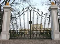 wrought iron entrance gate  Efekt-Metal