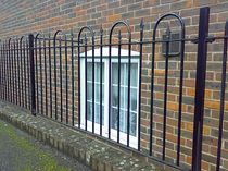 wrought iron fence  New Forest Metal Work