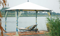 wrought iron gazebo (canvas covering) ALISIO SKY LINE DESIGN