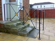 wrought iron railing . New Forest Metal Work