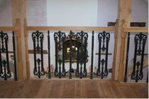 wrought iron railing COS/26/1 Cast Spiral Stairs