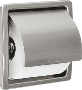 builtin toilet paper dispenser stainless steel commercial