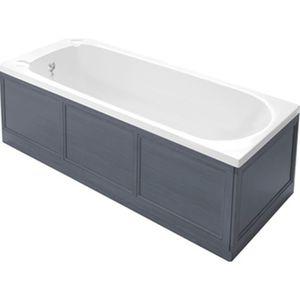 Rectangular Bathtub Surround / Wooden