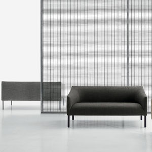 Merveilleux Contemporary Sofa / Leather / Fabric / For Public Buildings
