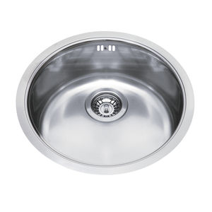 single bowl kitchen sink stainless steel round. Interior Design Ideas. Home Design Ideas