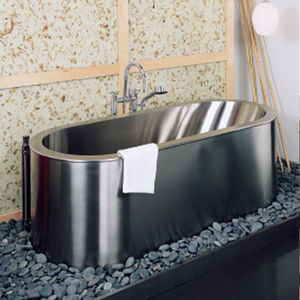 Exceptionnel Free Standing Bathtub / Oval / Stainless Steel