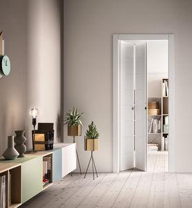 interior door folding wooden