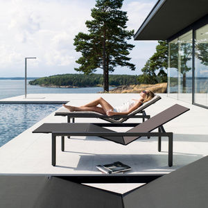 Gartenliege design  Sun lounger - All architecture and design manufacturers - Videos