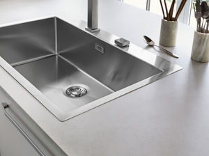 singlebowl kitchen sink stainless steel