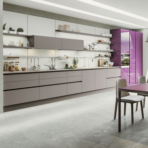 Nolte küchen magnolia matt  Laminate kitchen - All architecture and design manufacturers ...