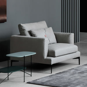 ... PRET A PORTER By Sergio Bicego. Contemporary Armchair / Fabric / With  Removable Cover / Gray