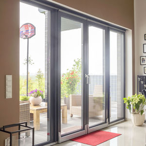 Tilt And Slide Patio Door / Steel / Double Glazed / Triple