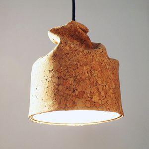 Pendant Lamp / Contemporary / Cork / Ceramic