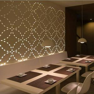 partition wall decorative panel for interior fittings aluminum with indirect lighting - Decorative Wall Panels Design