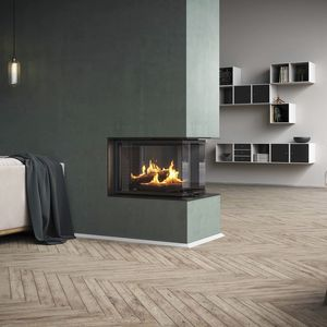 Closed hearth fireplace - All architecture and design ...
