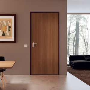 entry door / swing / wooden / melamine & Melamine door - All architecture and design manufacturers - Videos