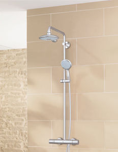 Wall Mounted Shower Set / Contemporary / With Fixed Column Shower Head