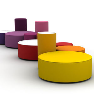 Modular poufs - All architecture and design manufacturers - Videos