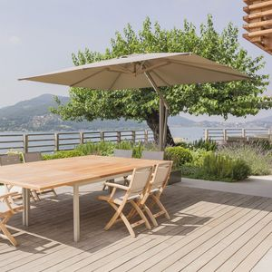 offset patio umbrella fabric metal