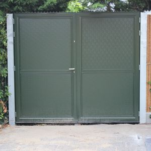 indian open driveway gate. swing gates  sliding aluminum panel Sliding gate Slide All architecture and design manufacturers