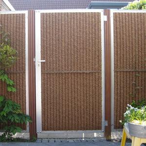 Wooden Garden Gate / Metal