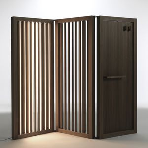 Wooden room divider All architecture and design manufacturers