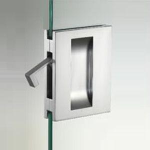 sliding door handle metal
