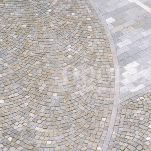 natural stone paver driveover pedestrian for public spaces