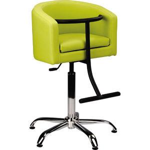 fabric beauty salon chair with hydraulic pump star base